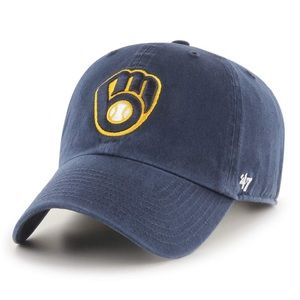 Milwaukee Brewers '47 Clean Up Cap